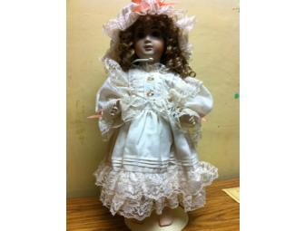 Francine Cee Limited Edition Antique Reproduction Porcelain Doll -- 'Annabelle'