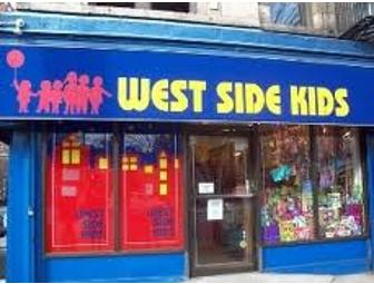 $50 gift certificate to West Side Kids Toy Store