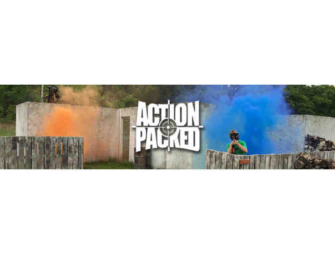3 Player Standard Package Paintball Tickets - Photo 4