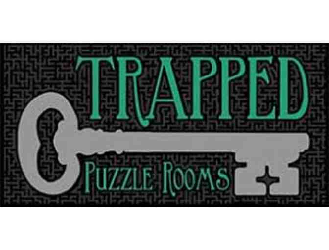 2 Tickets - Trapped Puzzle Rooms - North Loop or St. Paul, MN - Photo 1