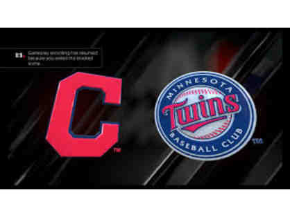 MN Twins vs Cleveland Indians Game - September 8, 2019 at 1:10pm - 4 Tickets