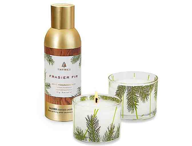 Thymes Frasier Fir Sets - Candle Set and Fragrance Mist