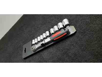 11pc 3/8'' Dr. Metric Socket Set