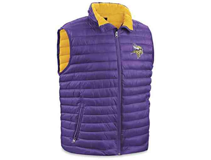 NFL Vikings Vest - Large - Photo 1