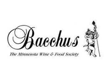 Bacchus-The Minneapolis Wine Society - One year membership