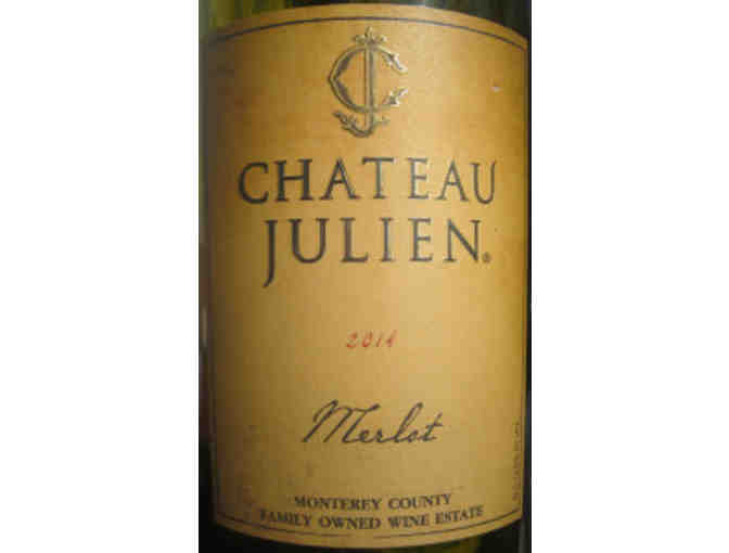 Case of Chateau Julien Merlot (9 bottles) donated by the Angus Barn