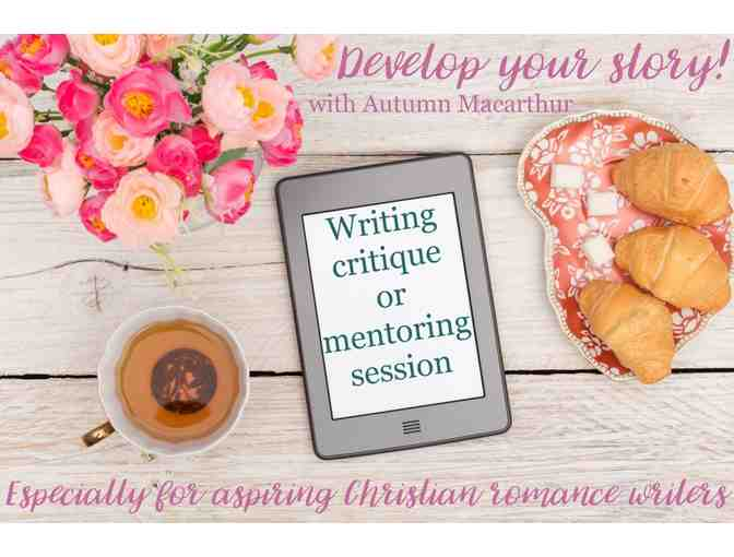 Mentoring Session for Writers with Best-selling Author