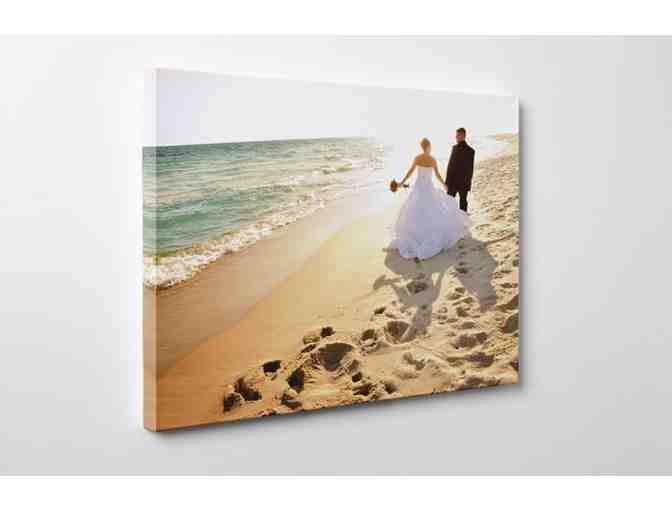 Customized Canvas Wall Print 2' x 4' (Either Portrait or Landscape)