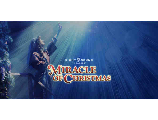 2 Tickets to 'Miracle of Christmas' Production at Sight and Sound Theater - Branson, MO