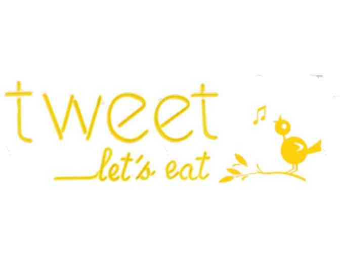 Gift Certificate for 2 for Tweet, Let's Eat! - Photo 1