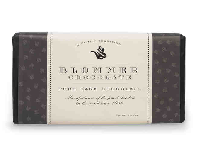 10lb Dark Chocolate Bar from Blommer Chocolates - Photo 1