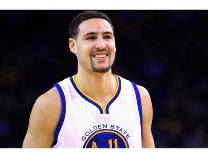 Golden State Warriors - Klay Thompson - Special Edition 'San Jose Sharks' Bobblehead