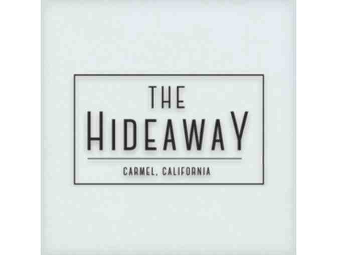 Carmel:  Two (2) Night Stay At The Hideaway Includes Breakfast