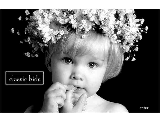 Classic Kids Photography:  One sitting for four (4) + complimentary Valentine's Day cards
