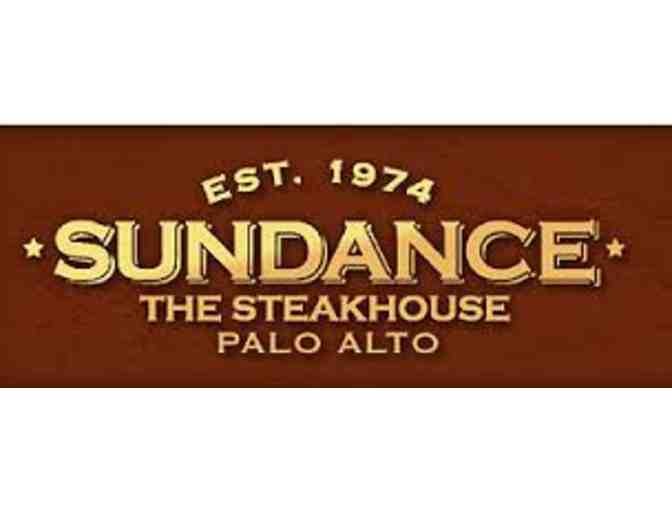 SF Bay Area: Sundance The Steakhouse, Palo Alto: $250 Gift Certificate