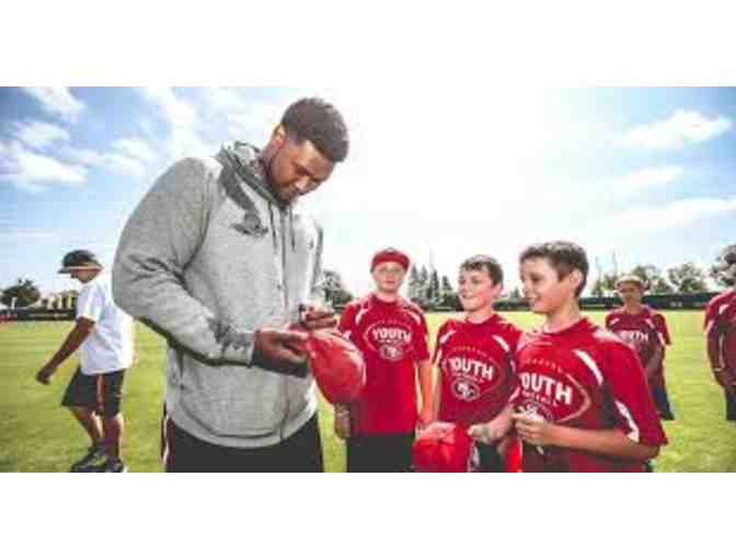 San Francisco 49ers - 49ers Youth Football Camp for your Future Pro - 1 spot