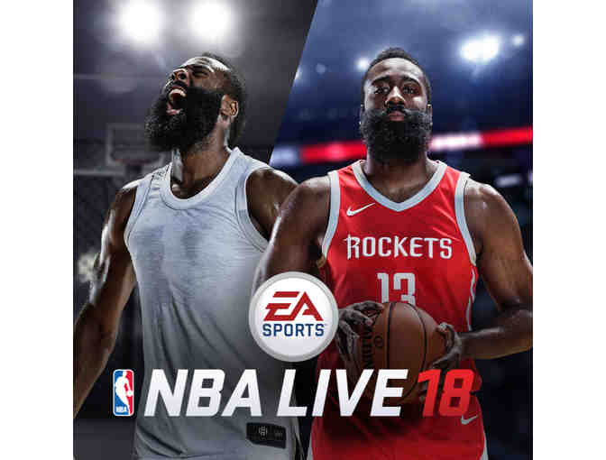EA Sports - Two (2)  Sports Games - PS4 - NBA Live 18 and Rory McIlroy PGA Tour