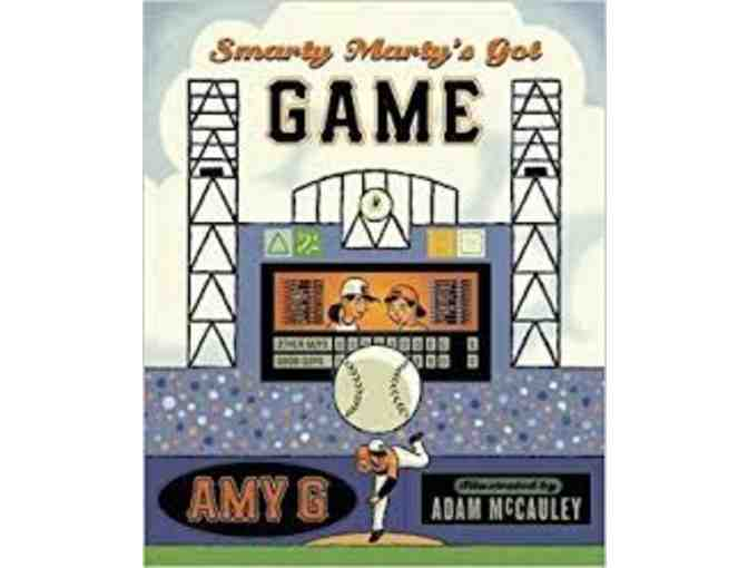 For your child - Amy G's set of three (3) 'Smarty Marty' Books - autographed