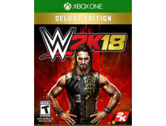 2K - One (1) Deluxe Edition WWE2K18 and one (1) Legend Edition NBA 2k18 Game - XBOX 1