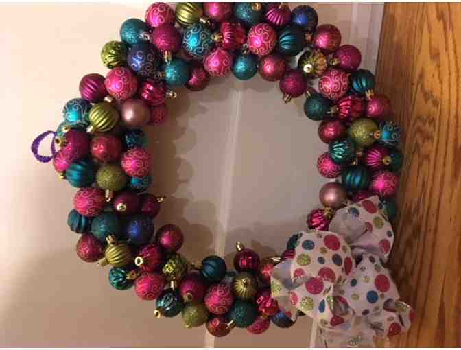 For your home: A Beautiful, handmade wreath!