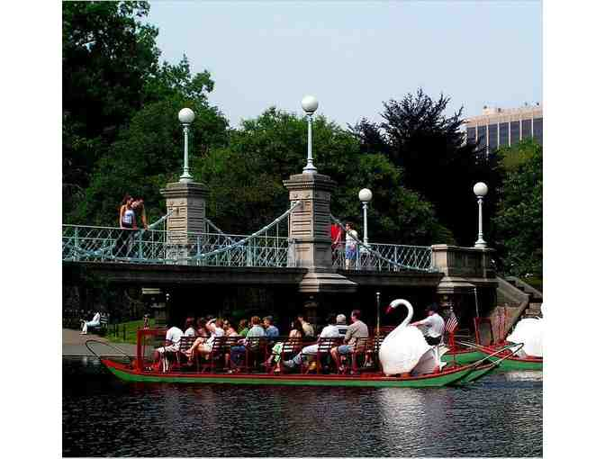 10 Complimentary Swan Boat Rides