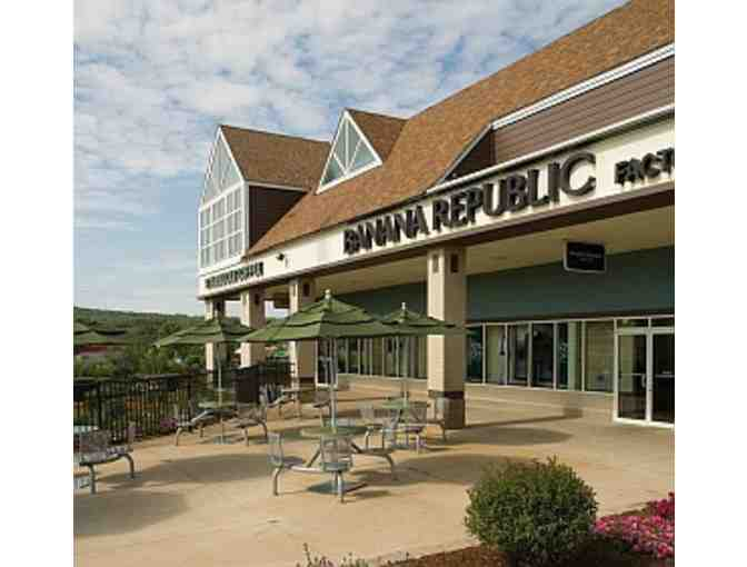 $25 Tanger Outlet Center Gift Certificate