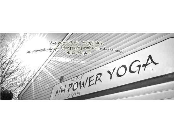 One Month Unlimited Yoga Classes at New Hampshire Power Yoga