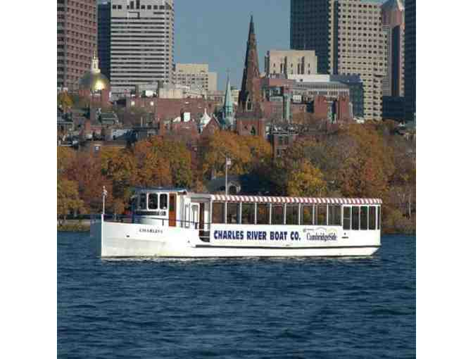 Two Charles River Boat Company Sight Seeing Passes (B)