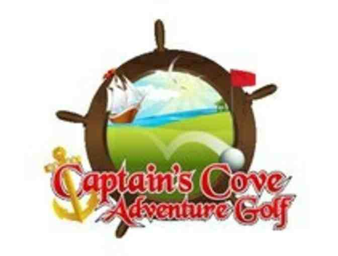 Captain's Cove Adventure Golf - 4 game passes for 2019