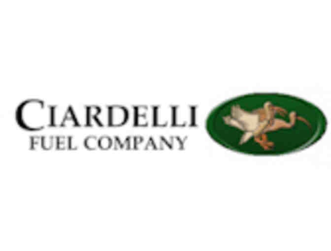 Gift Certificate For 100 gallons Of Oil Or Propane From Ciardelli Fuel Co.