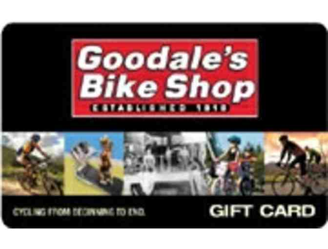 $25 Goodales Bike Shop Gift Certificate