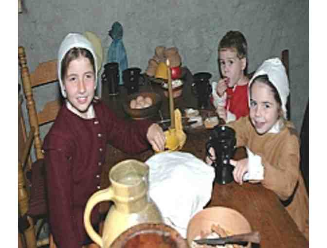 2 Admissions to Plimoth Plantation, Mayflower II, and Plimoth Grist Mill