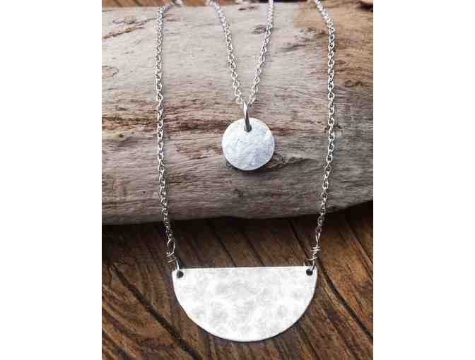 Sterling Silver Handmade Minimalist Set From Lara's Theme Jewelry