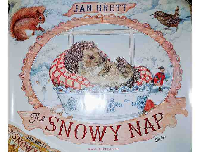 Autographed Poster Of THE SNOWY NAP By Jan Brett