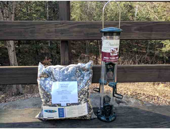 Bird Feeder And Seed From Orde Farm