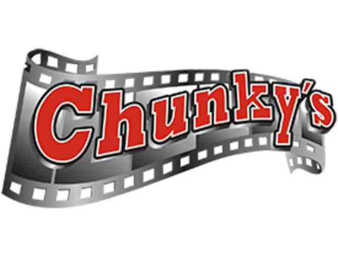 $25 Gift Card To Chunky's Cinema And Pub