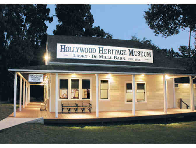 Hollywood Heritage Museum Family Membership & Swag Bag - Photo 1