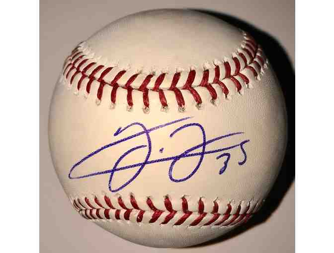 Autograph Baseball of Chicago White Sox Frank Thomas