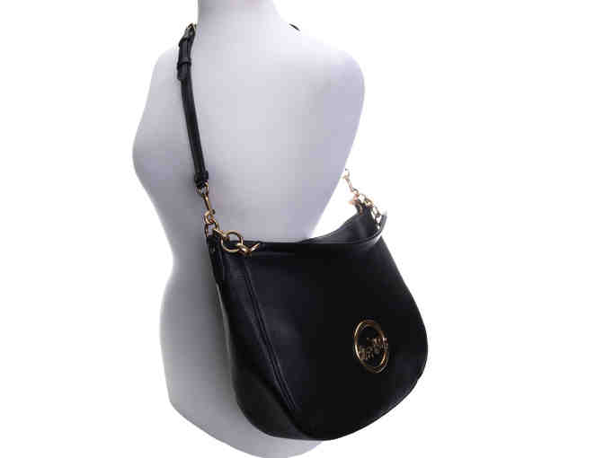 Coach Purse ELLE HOBO LIMITED EDITION BLACK OLD BRASS