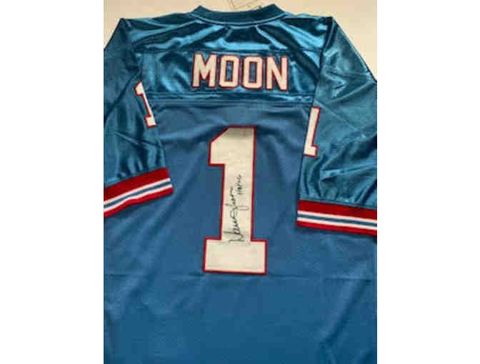 Autographed Jersey signed by Warren Moon