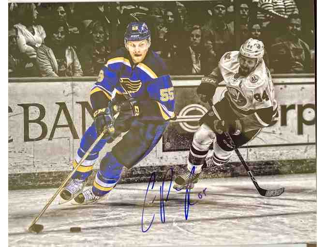 Autographed Colton Parayko Blues 11x14  Photo