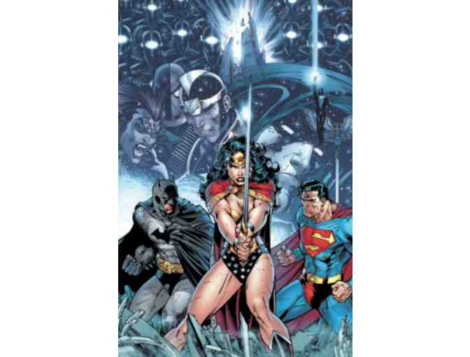 DC Comics Jim Lee - Signed Original Commissioned 11x17 Color Unframed Art Piece