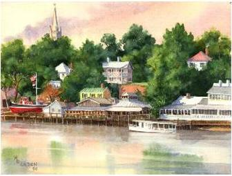 Cape Fear Memories Giclee Print by Mary Ellen Golden