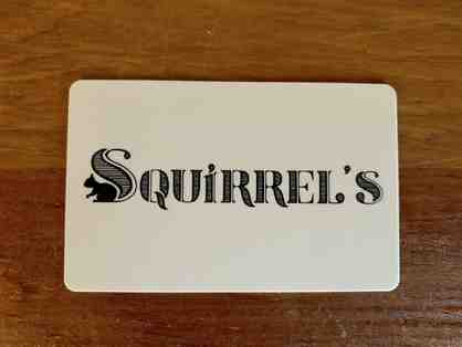 Squirrel's Pizza Gift Card ($50)