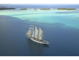 Authentic Sailing Adventure - Seven Night Caribbean Cruise for Two - Star Clippers Cruises
