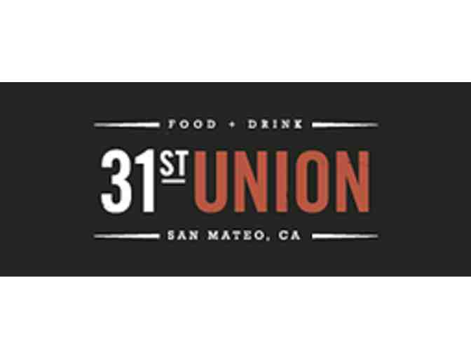 Cocktail Class and Tasting at 31st Union
