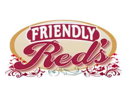 $75 Gift Card to Friendly Reds
