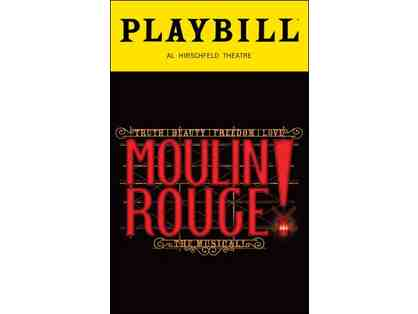 2 VIP Tickets to Moulin Rouge! The Musical - PLUS Backstage Tour with Jodi McFadden