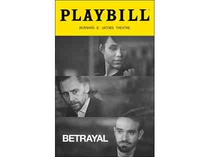 2 VIP Tickets to BETRAYAL by Harold Pinter -  Directed by Jamie LLoyd