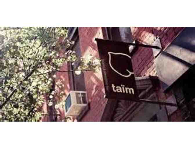 Taim Falafel And Smoothie Bar